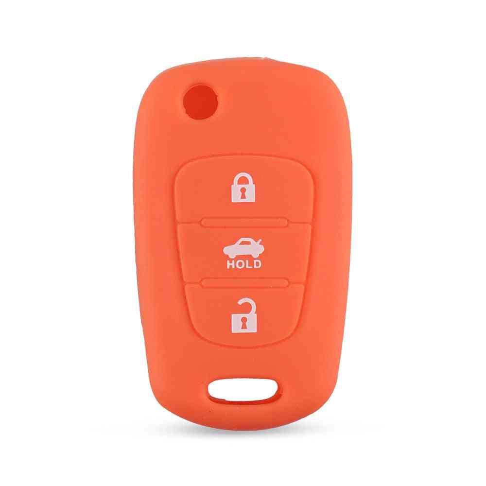 Silicone Flip Car Key Cover / Case