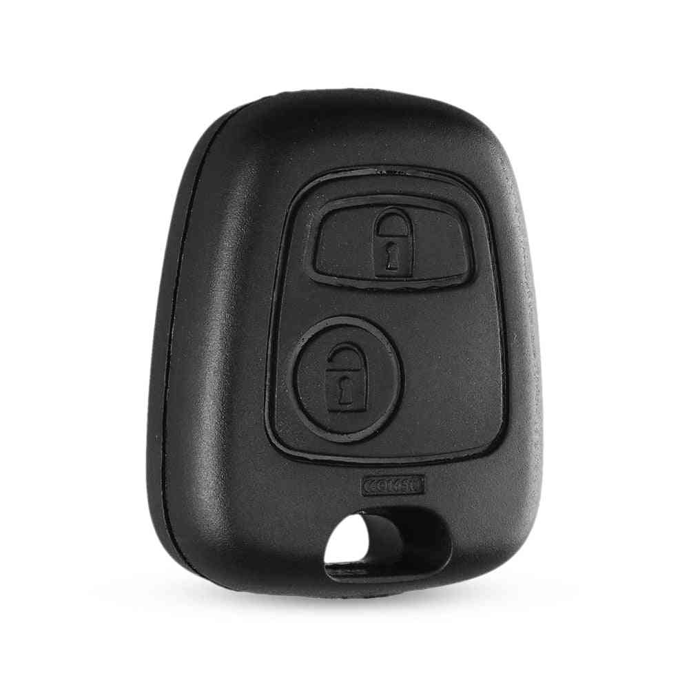 Dandkey Auto Car 2 Button, Remote Control Key Fob Case Shell