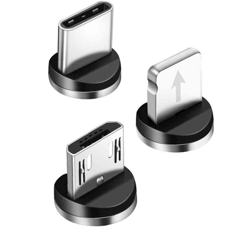 Magnetic Micro Usb Cable Android Mobile Phone Fast Charging Type C Magnet Cord
