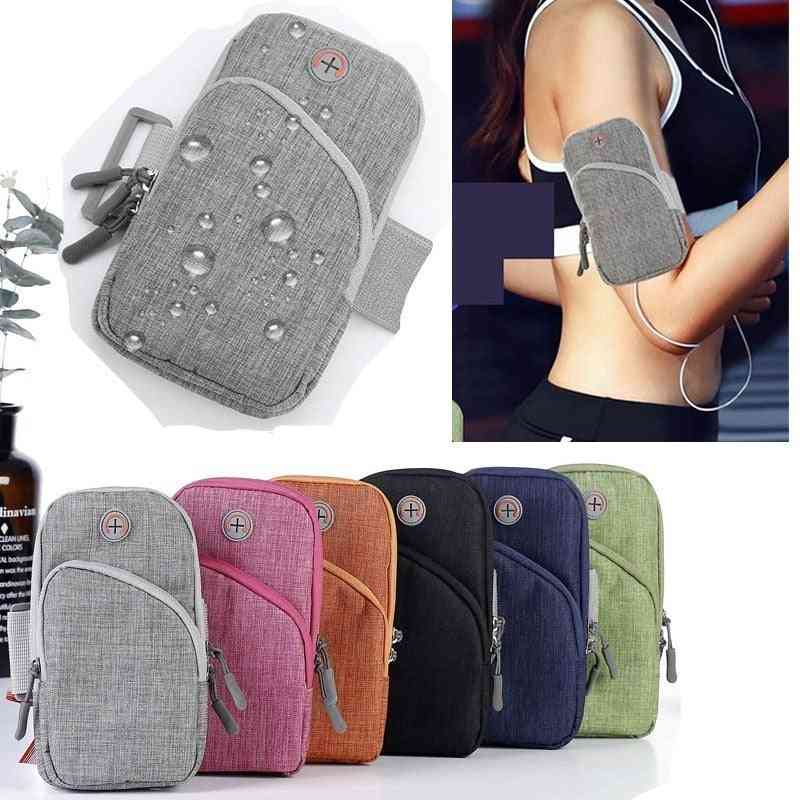 Mobile Phone Arm Band Hand Holder Case, Gym Outdoor Sport Running Pouch