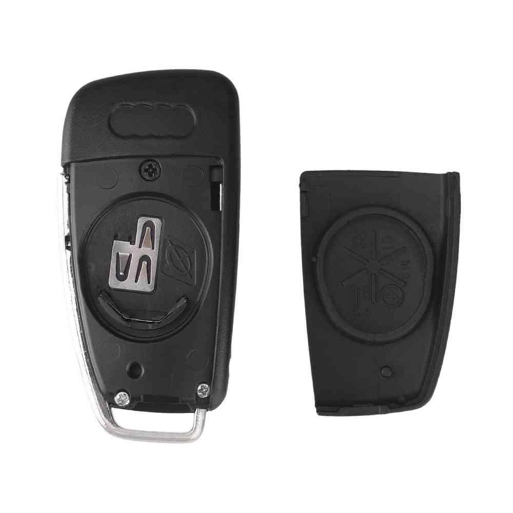3 Button Folding Remote Flip Car Key Case Shell Fob