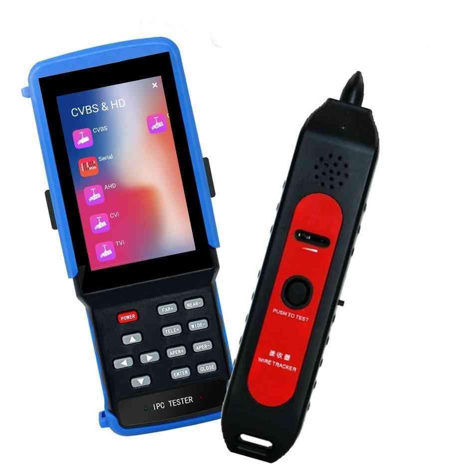 Ipc-9310s 4.5inch Display 4k H265, 5mp Ahd Cctv Camera Video Test Professional Testing Tools