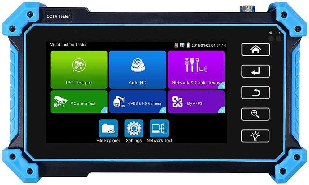 Ip Hd Cctv Camera Tester Monitor, Hdmi/vga Input