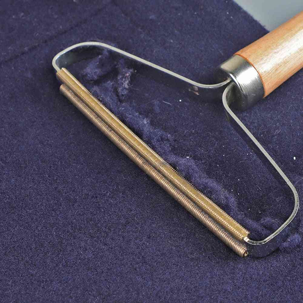 Mini Portable, Lint Remover Fuzz Fabric Shaver Brush For Sweater, Woven Coat