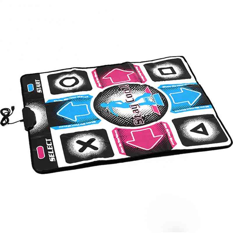 Usb Non-slip Ddr Dancing Step Dance Mat Pad Dancer Blanket For Kids (as Picture)