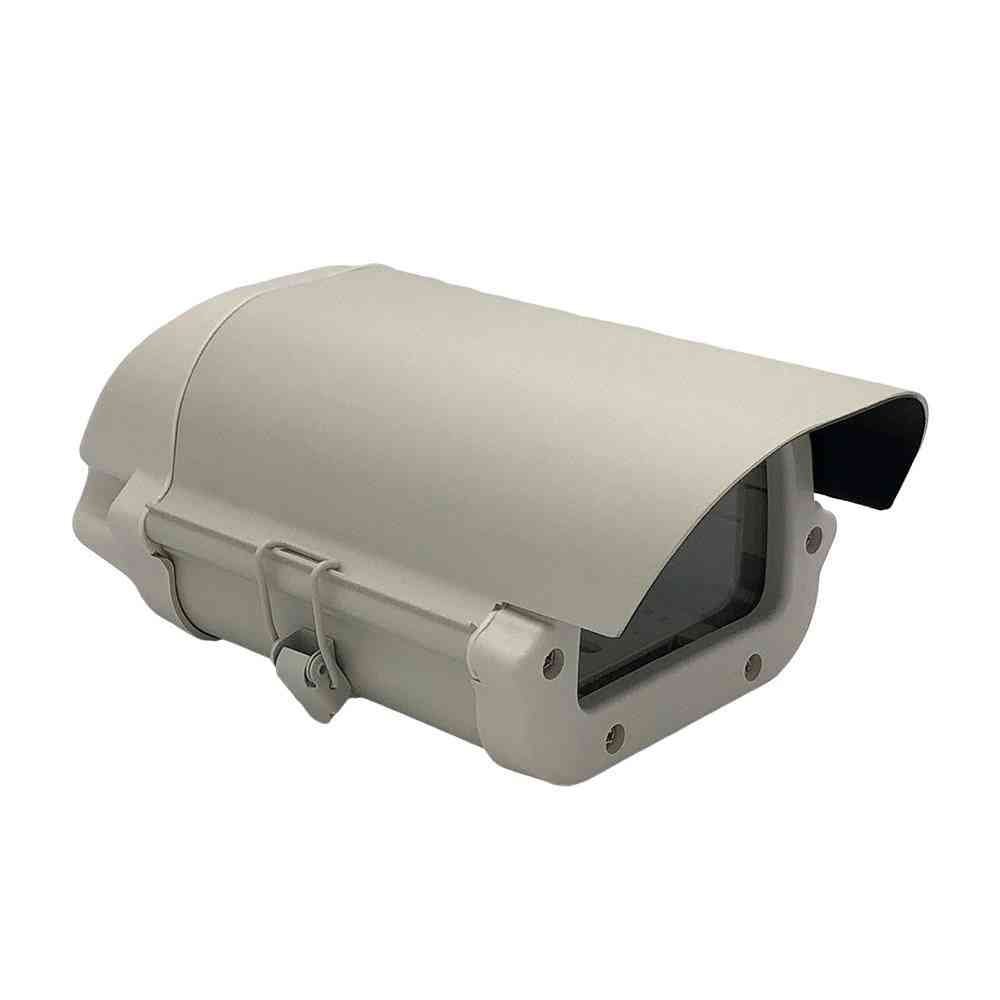 Waterproof Aluminium Enclosure Box With Lock And Clear Glass For Cctv Camera