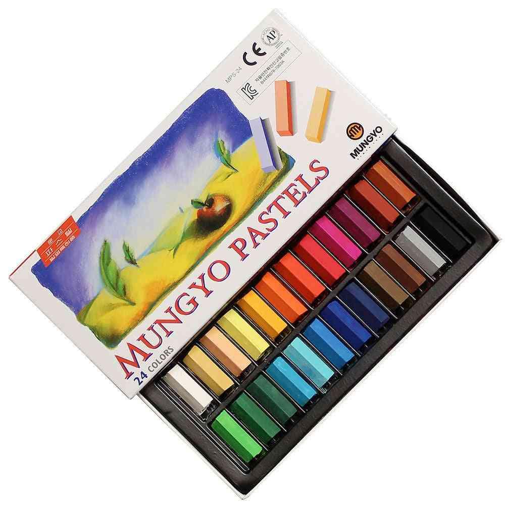 Mungyo Soft Pastels Square Type Pastel Art Drawing