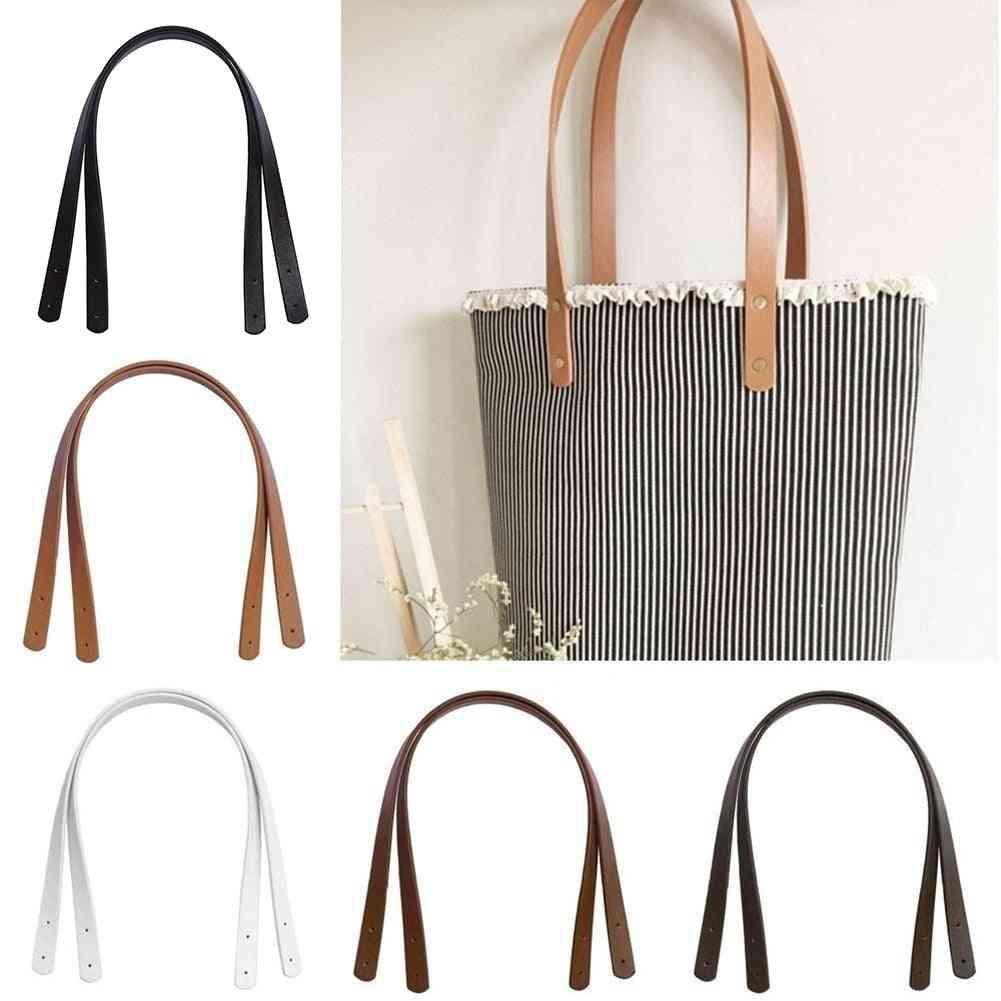Pu Leather Strap, Shoulder Handle Belt Band For Handbag