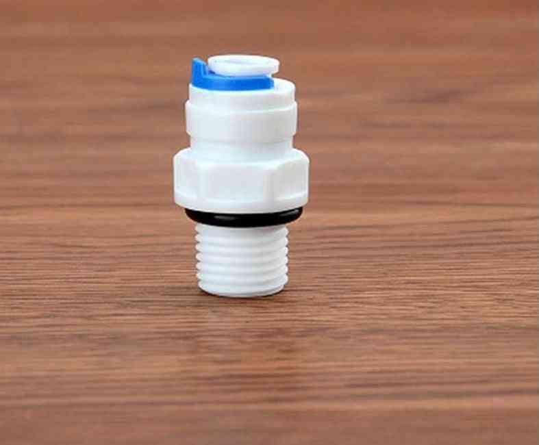 Hose Push Quick Connection Ro Water Aquarium System Parts