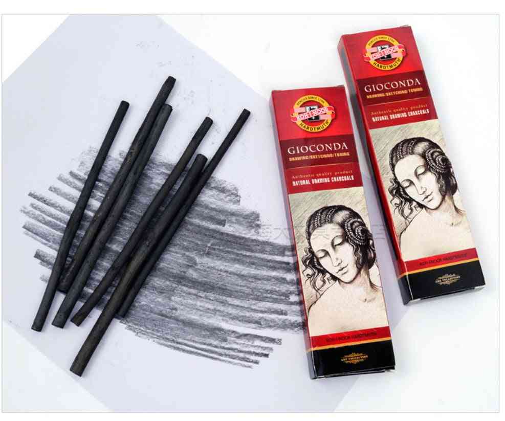 Cotton Willow Charcoal Bar Art With Soft Carbon Lead Stick Drawing Sketch