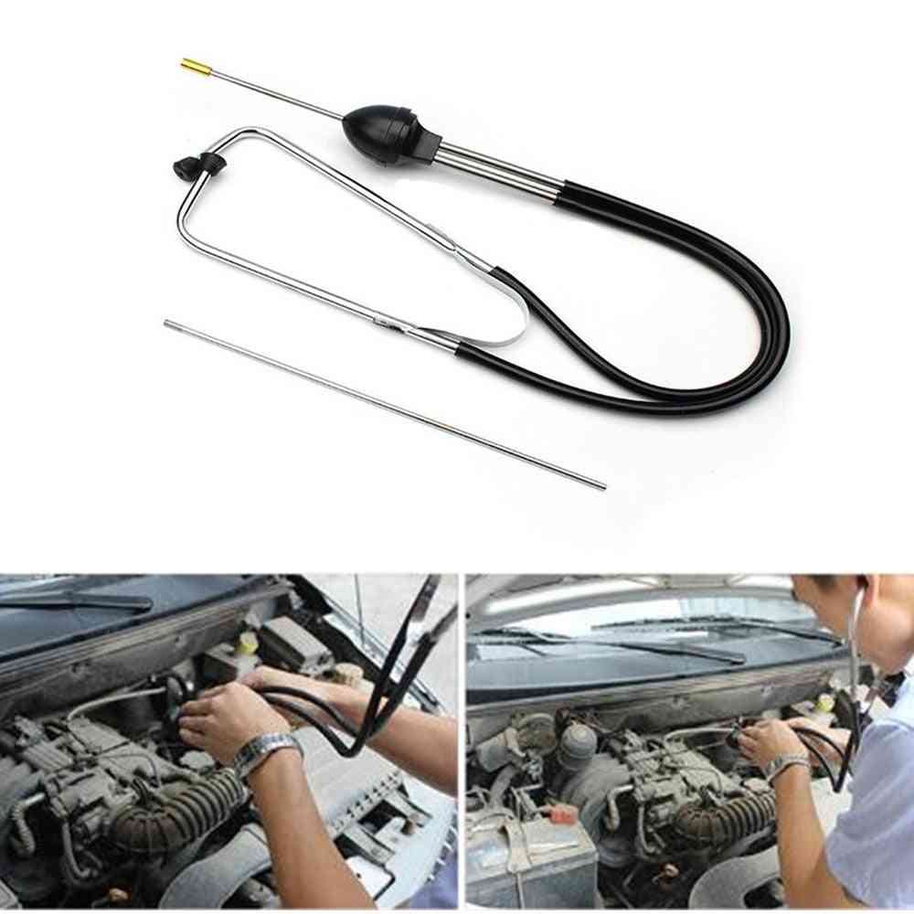 Car-engine Cylinder Stethoscope, Automotive Mechanics Engine Repair Tester Diagnostic Tool