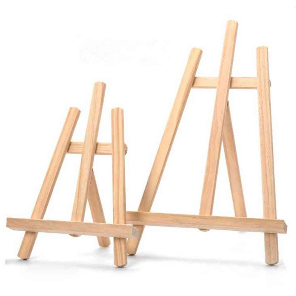 Wooden Adjustable Painting & Drawing Stand Easel Frame Artist Tripod Display Shelf