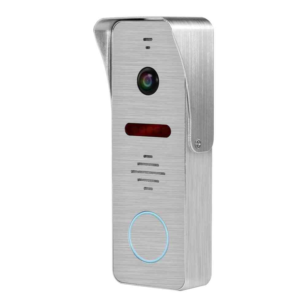 130 Degree Wide Angle 1080p Camera Wired Doorbell