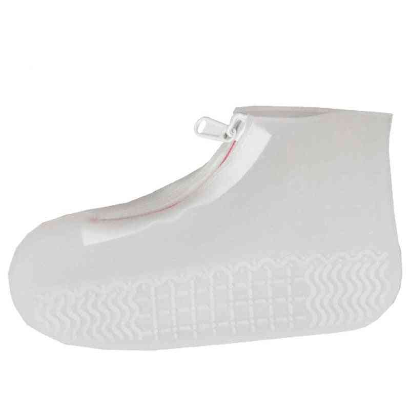 Unisex Reusable Waterproof Shoes Covers Non-slip Rain Covers