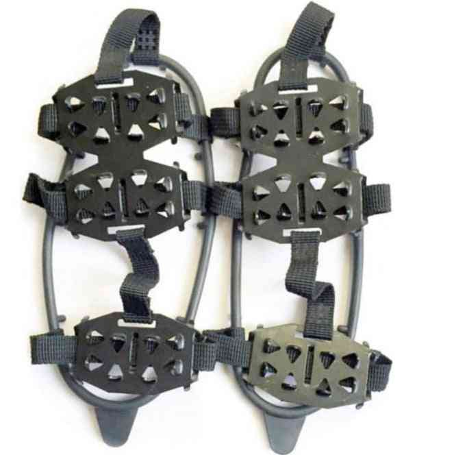 24 Teeth Ice Non-slip Crampons Gripper For Snow, Climbing Shoes