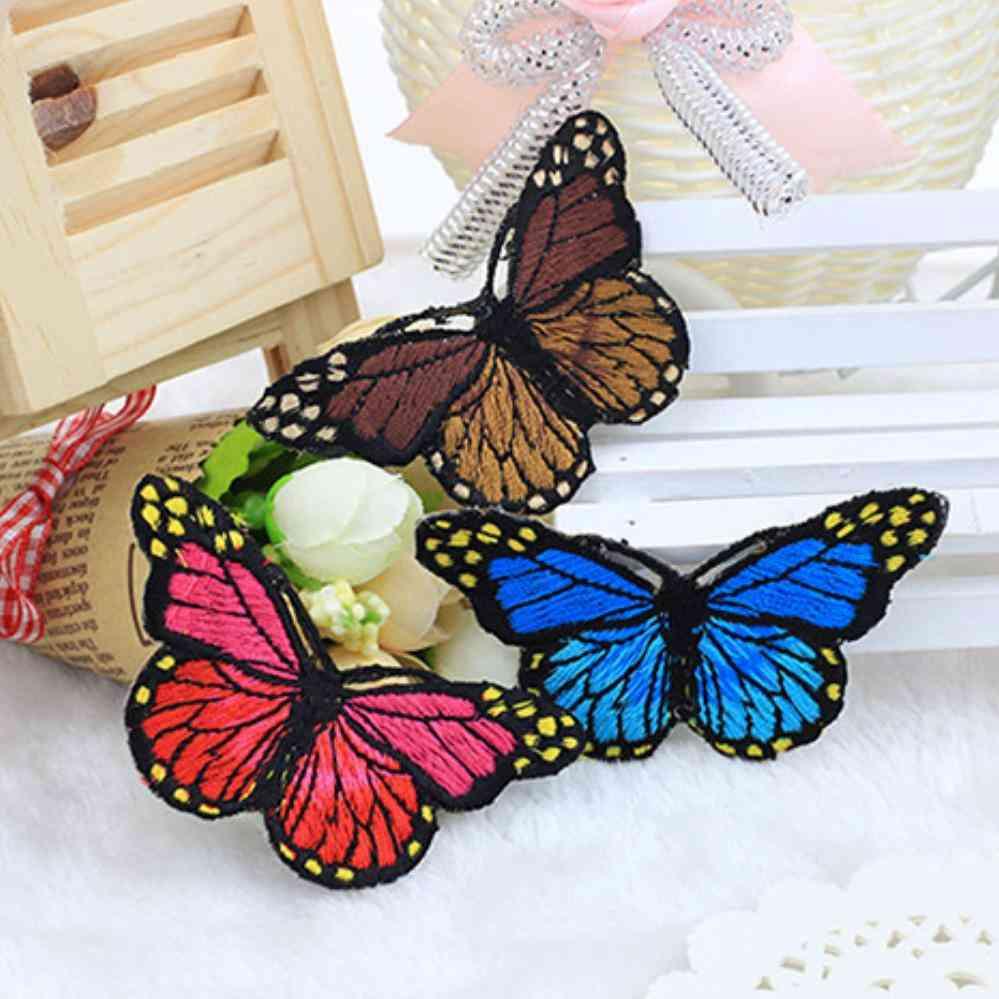 Multicolor Butterfly Unique Design Embroidery Applique Patch Stickers
