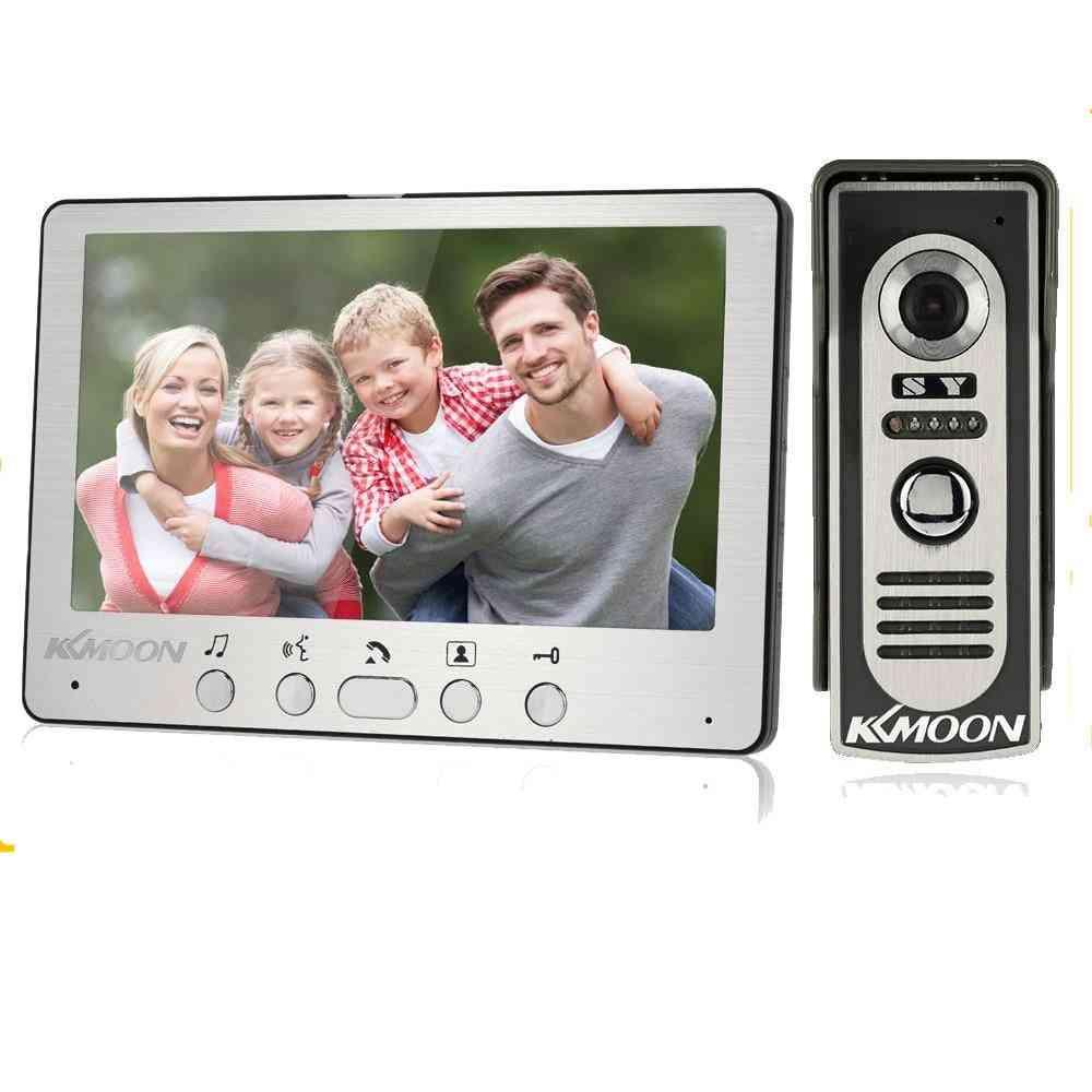 Intercom System With Waterproof Outdoor Ir Camera
