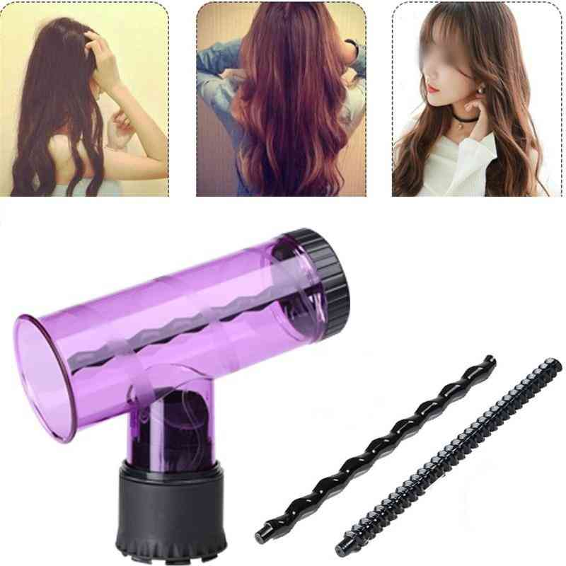 Curler Hair Dryer Attachment Curling Styling Beauty Tool