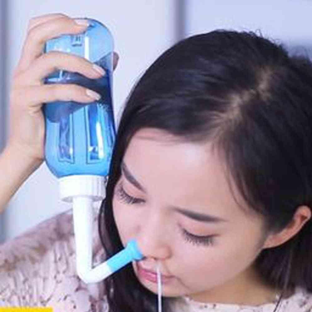 Adult, Kids Nasal Wash, Nose Cleaning For Moistens, Avoid Allergic, Sinus