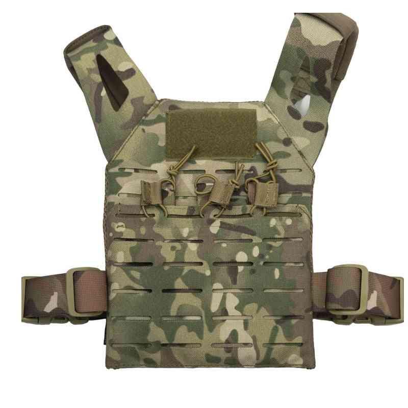 New Tactical Airsoft Vest, Adjustable Shoulder Strap And Waist