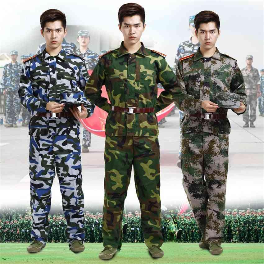 Military Uniform, Tactical Camouflage Combat Forces, Training Clothes Set's