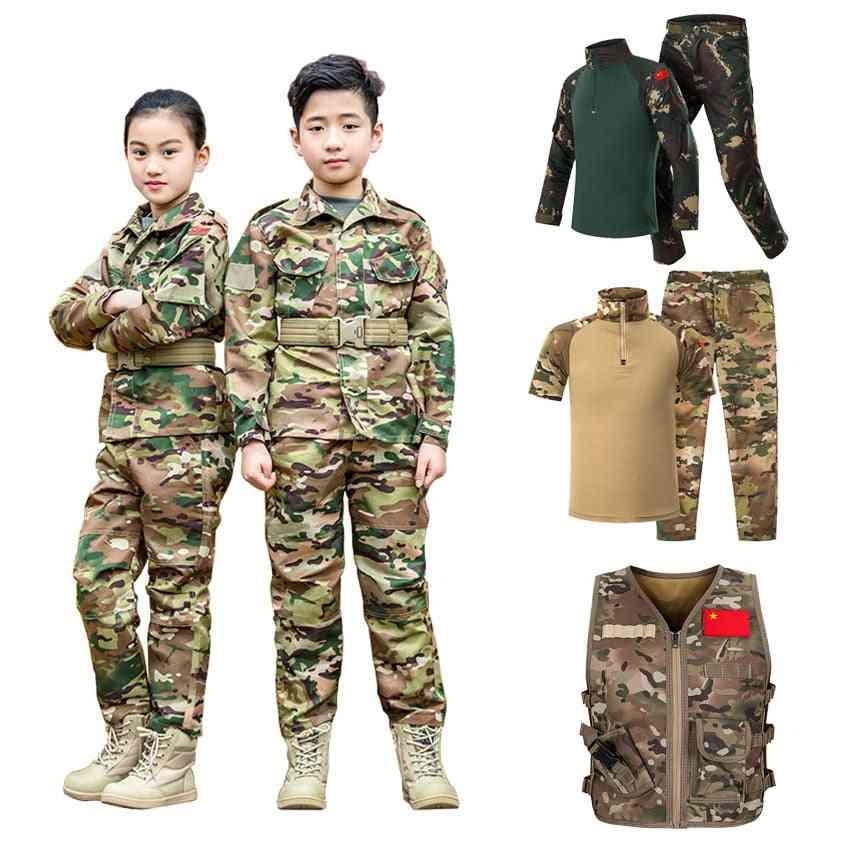 Military Uniform, Tactical Combat Jacket & Pants Set