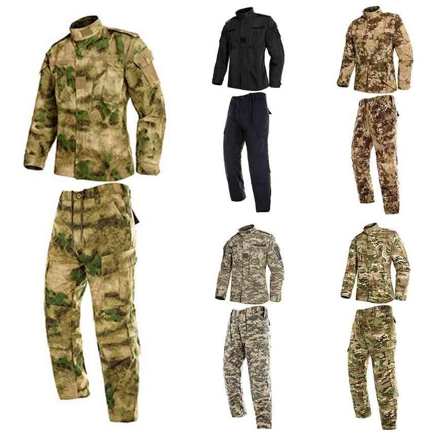 Military Uniform, Jungle, Camouflage Combat Airsoft Tactical Jacket, Pants's