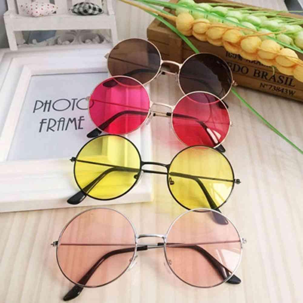 Sun Glasses Lens Alloy Women Eyewear Frame Driver Goggles