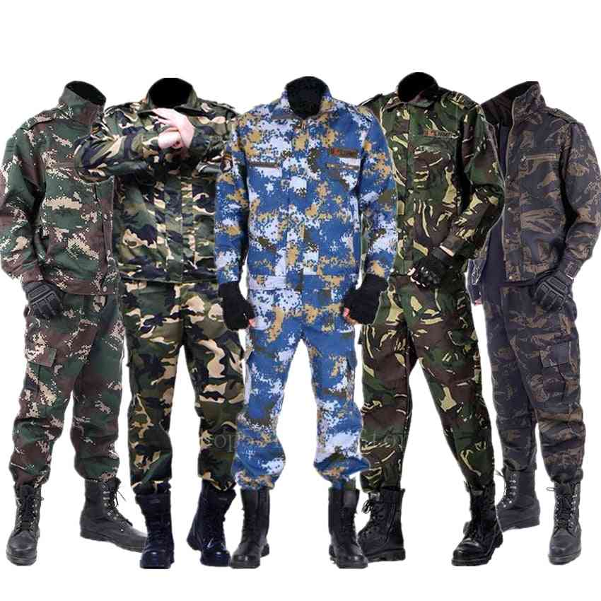 Army Uniform, Camouflage Tactical Clothing, Combat Jacket, Pant's