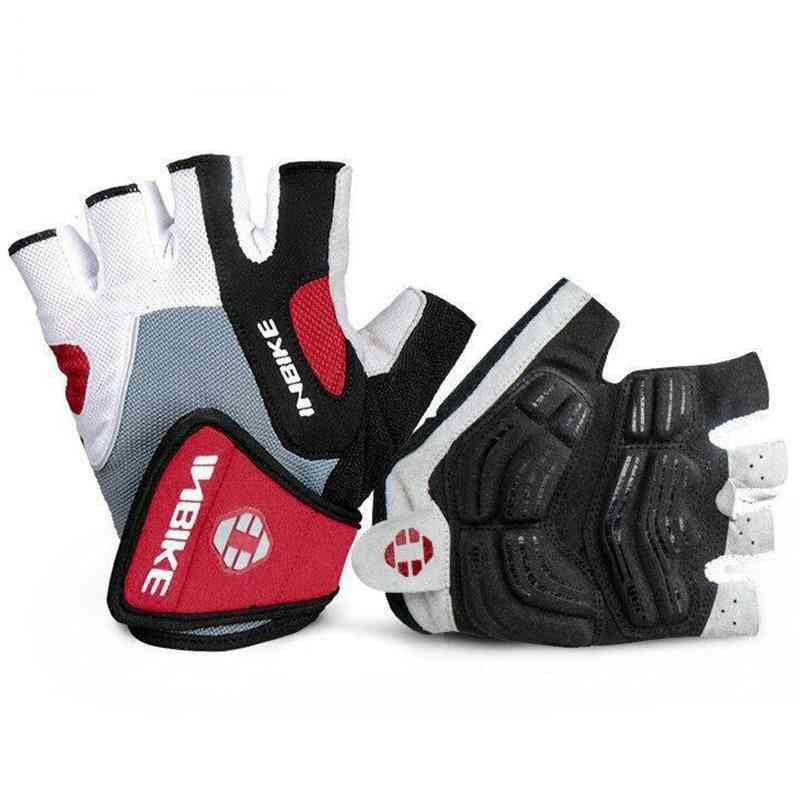 Shockproof Gel Pad Cycling Half Finger Sport Gloves