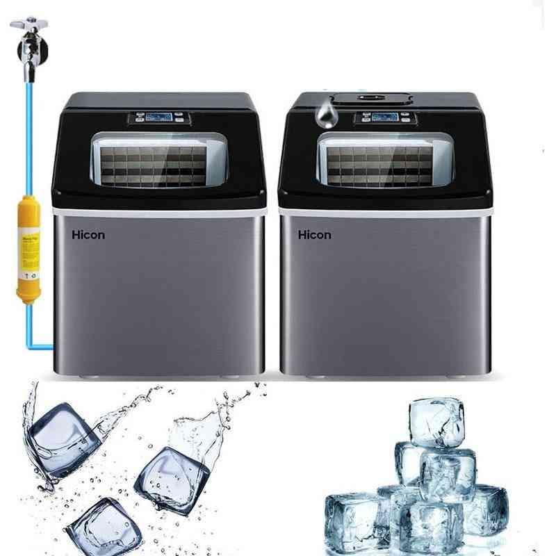 Home Small Square Ice Cube Freezing Milk Tea Machine Maker