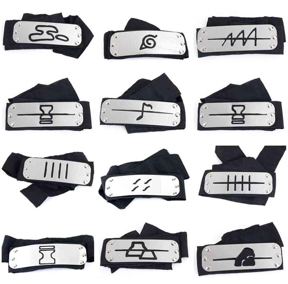 Naruto Kakashi Headband Cosplay Costumes Accessories