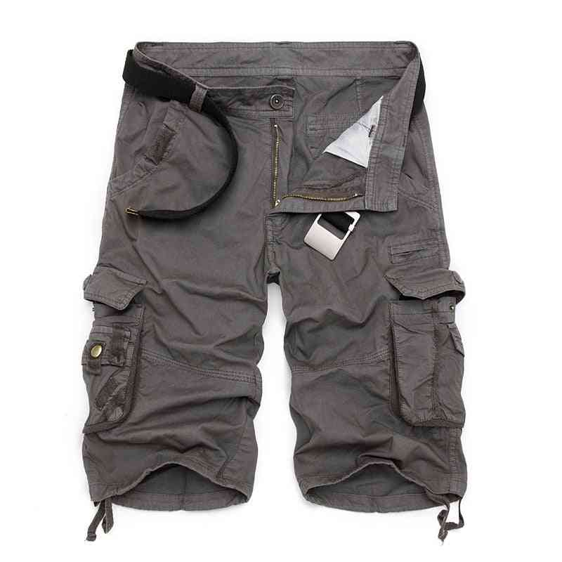 Mens Military Cargo Army Camouflage Tactical Shorts