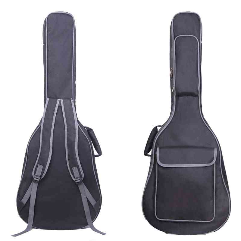 Guitar Carry Backpack, Guitar-gig Bag Cover With Double Shoulder Straps