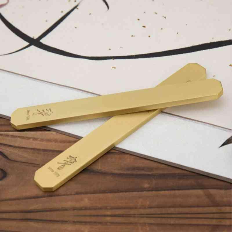 Simple Metal Paperweight, Portable Beginner Paperweights Brush