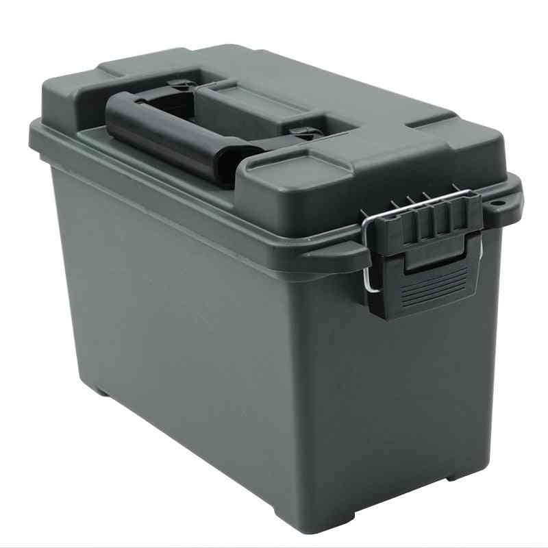Military Style Ammo Storage  Box, Heavy Duty Caliber Bulk Case