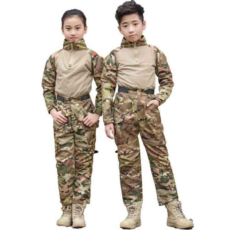 Summer Tactical Long Sleeve Suit Set