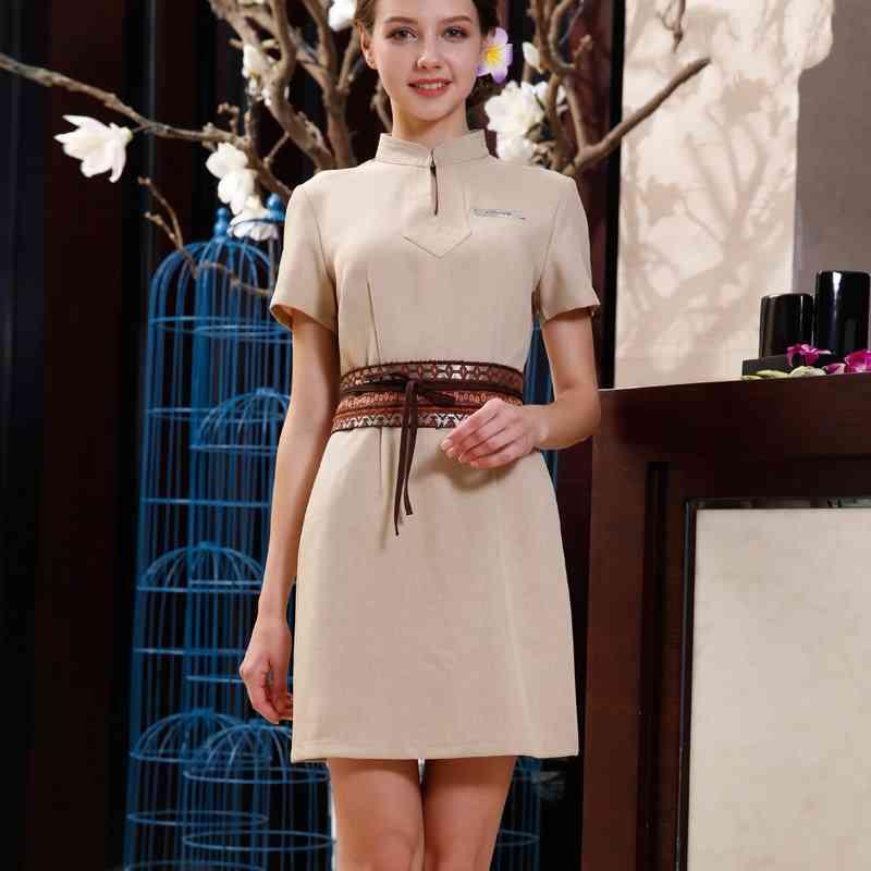Spa Uniforms, Health Club Elegant Workwear Dress