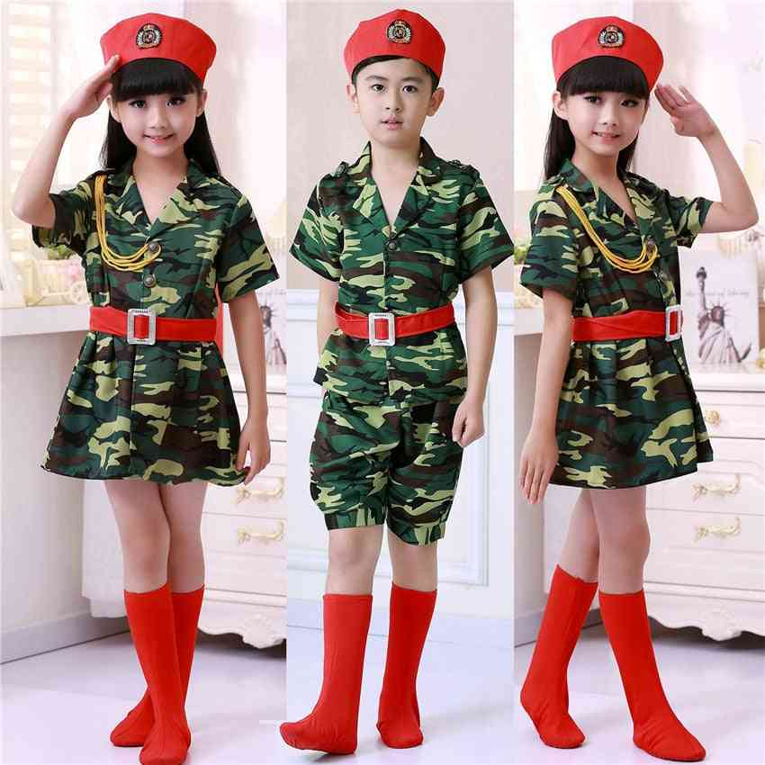 Camouflage Soldier Clothing For Girl & Boy