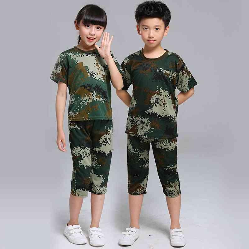 Children Camouflage, Military Uniform Set-2