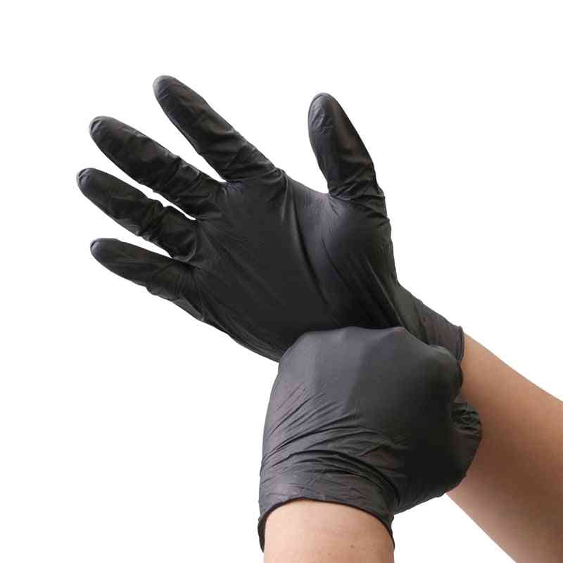 Disposable Nitrile Cleaning, Washing Oil Resistant Grade, Hand Safety Protective Gloves