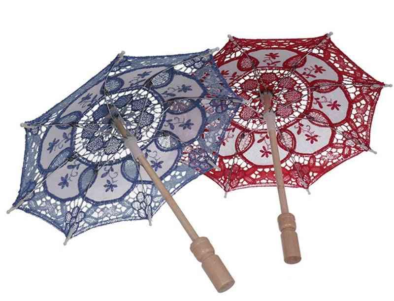 Cotton Little, Sun Flower Lace Umbrella Photography Decoration