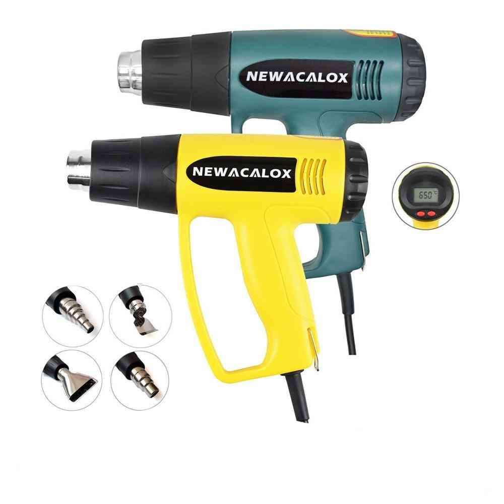 Electric  Thermoregulator Hot Air Heat Guns With Lcd Display