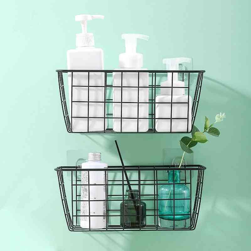 Bathroom Kitchen Accessories, Storage Organization Basket, Rectangular Box