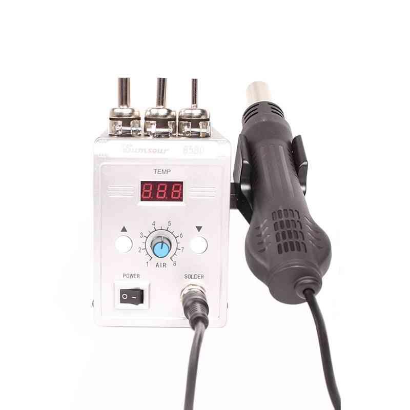 Soldering Heat , Digital Display Bga, Rework Solder Station, Hot Air Blower Gun