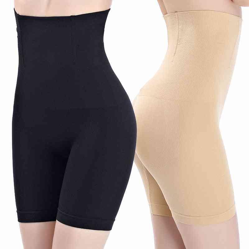 Women High Waist Shaper Shorts, Breathable Body Slimming Tummy Underwears