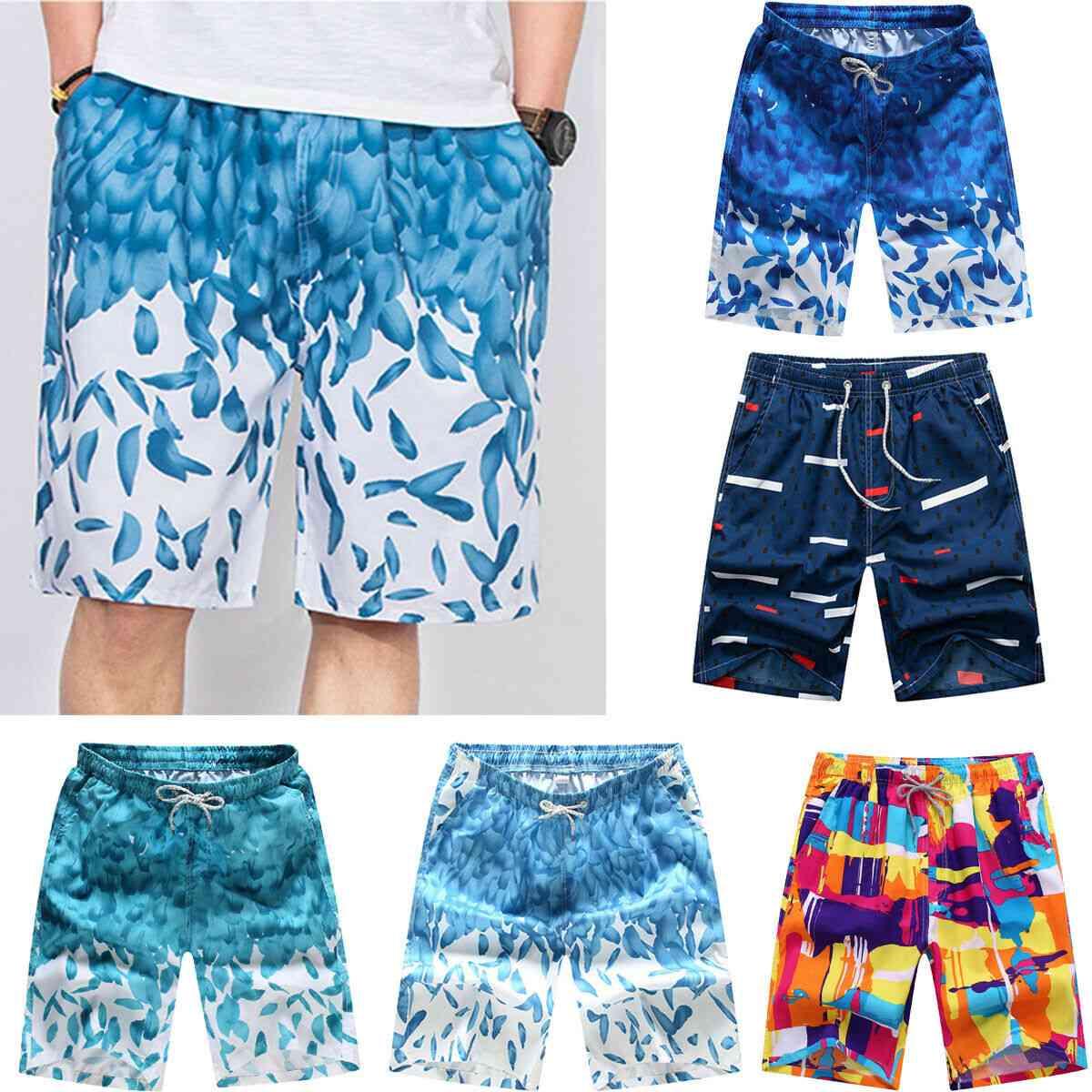 Men's Swim Trunks Beach Shorts, Summer Sports Pants Breathable