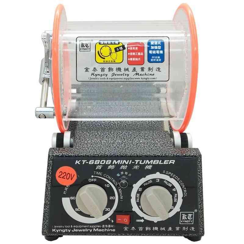 Mini Tumbler Rotary Polishing Machine