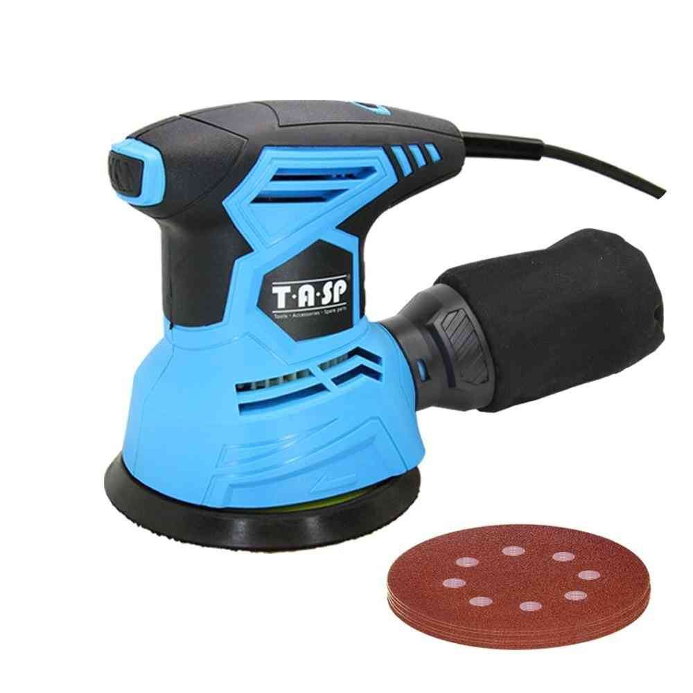 Orbital Electric Sander Machine With Sandpapers, Strong Dust Collection Polisher