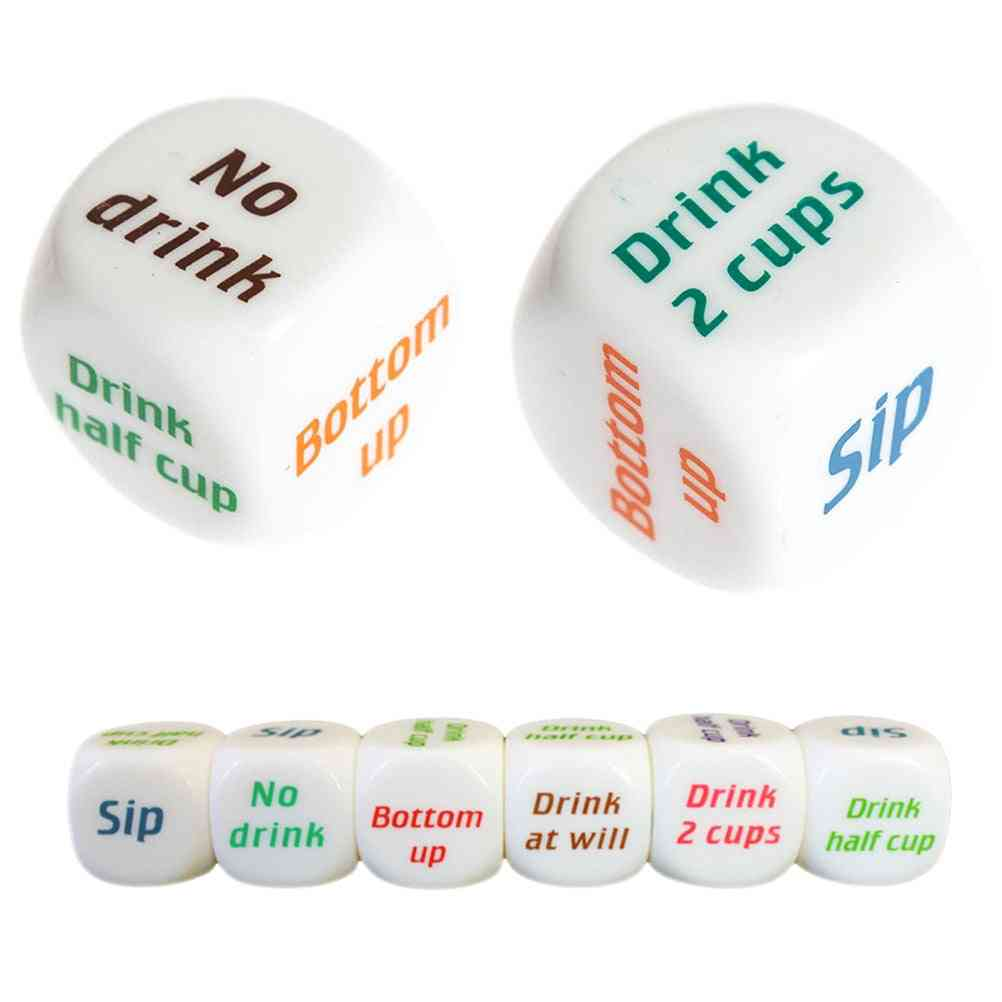 Adult Party Game-drink Decider Dice